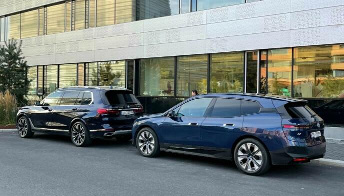 iX: Bilen er en elektrisk SUV, på størrelse med X5. Foto: Jan Thoresen