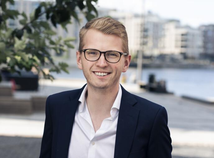 FRA KORTTID til LANGTID: Tier med norgessjef Morten Askeland i spissen, starter langtidsutleie av elsparkesykler i Oslo. Foto: Tier
