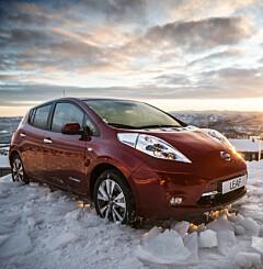 Image: Vintertips: - Ikke kjøp elbil uten
