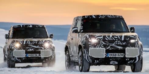 Image: Land Rover på nullutslipp
