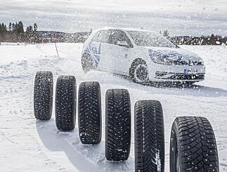 Image: Her er sesongens beste og dårligste vinterdekk