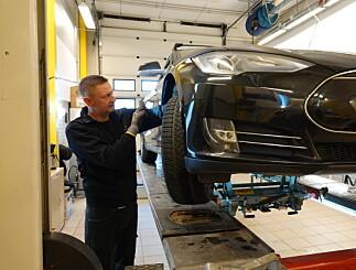 Image: Kunden trodde bilen var strøken. Se hva som skjer når NAF rugger på bakhjulet …