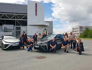 Image: Hamstret hydrogenbiler - satser på «hjemmelaget» drivstoff