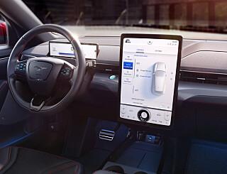 Image: På innsiden av Ford Mustang Mach-E