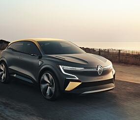 Image: Renault elektrifiserer Mégane