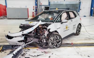 Image: VW ID.3 i kollisjonstest