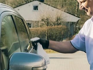Image: Få saltet av bilen