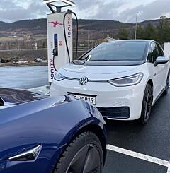 Image: Tesla Model 3 utfordrer VW ID.3