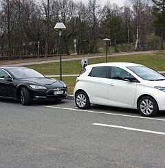 Image: Ny elbilbrann. Er elbilene brannfarlige?