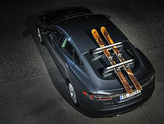 Image: Nei, du trenger ikke å ha skiene på taket