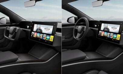 Image: Tok oppsiktsvekkende bilder av ny Tesla