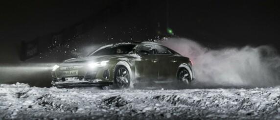 Image: Råskinnet Audi RS e-tron GT i test