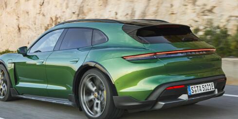 Image: Avduket: Elektrisk stasjonsvogn fra Porsche før sommeren