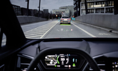 Image: Ny Audi får «skjerm» på 70 tommer