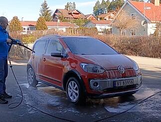 Image: Vårklar bil på én time