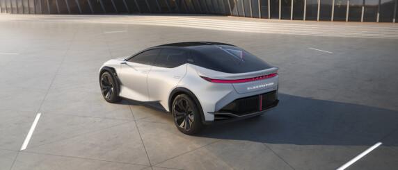 Image: Sjekk den nye elbilen fra Lexus