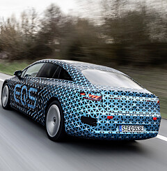 Image: Mercedes Benz EQS: Blir den verdens beste elbil?