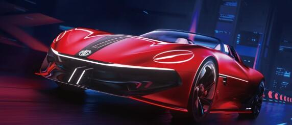 Image: Viser vanvittig elbil: Kabriolet med 80 mil rekkevidde!