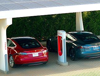 Image: Tesla ruller ut City Charging