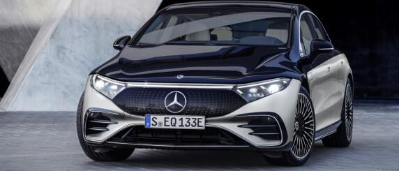 Image: Mercedes-Benz EQS er lansert