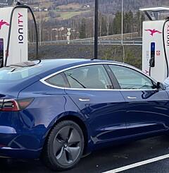 Image: Kraftig priskutt på Tesla Model 3