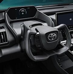 Image: Toyota lanserer elbilen bZ4X
