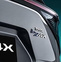 Image: Flere detaljer om elbilen Toyota bZ4X