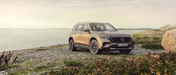 Image: Her er Mercedes-Benz EQB: Fleksibel sjuseter