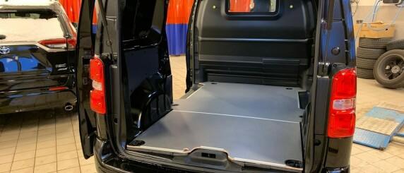 Image: Kutter i støtten til elektrisk varebil