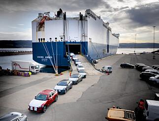 Image: Her ankommer 1000 biler mange nordmenn har ventet lenge på