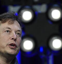 Image: Elon Musk med ny bitcoin-beskjed