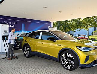 Image: VW ID.4: Nesten rett på topp