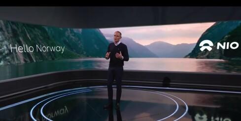 Image: Her lanseres elbilmerket Nio i Norge