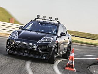 Image: Elbilen Porsche Macan nærmer seg