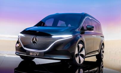 Image: Ny, stor luksus-elbil fra Mercedes-Benz
