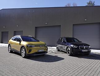 Image: VW ID.4 møter BMW iX3