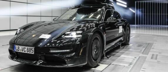 Image: En Porsche på taket
