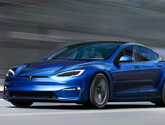 Image: Nye Tesla Model S blir verdens raskeste