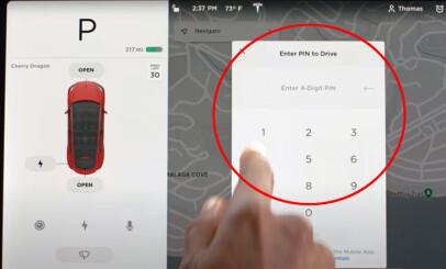 Image: Enkelt triks sikrer Tesla-en mot tyveri