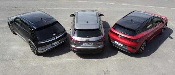 Image: VW ID.4, Audi Q4 eller Ioniq 5? Vi har en vinner
