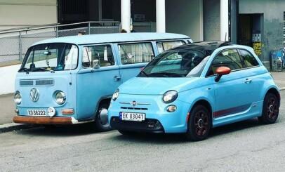 Image: Ikke rart det blir trangt på parkeringsplassene ...