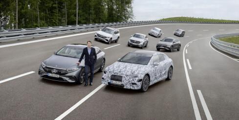 Image: Bekreftet: Mercedes-Benz blir rent elbil-merke