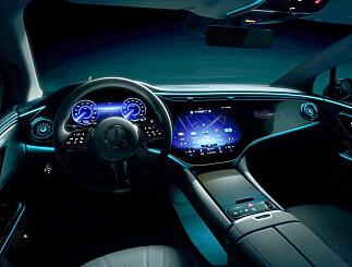 Image: Mercedes-Benz EQE: - Skal sette en ny standard