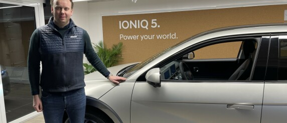 Image: Kom med gladmelding til Ioniq 5-eiere