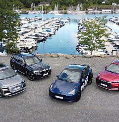 Image: Elbil-kampen: Tesla Model Y mot tre arge konkurrenter