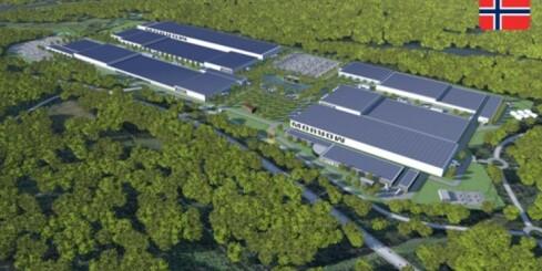Image: Norsk batterifabrikk skal produsere 700.000 elbilbatterier i året