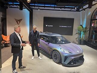 Image: Cupra viste fram spenstig konseptbil