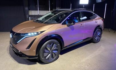 Image: Nissan har priset elbilen Ariya