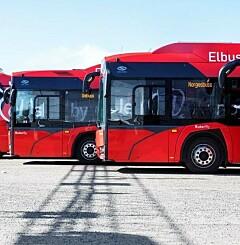 Image: Nå skal alle bussene bli elektriske