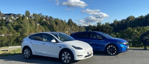 Image: Tesla mot Skoda i ladetest: - Seier med bismak